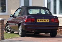P635 FKN (Nivek.Old.Gold) Tags: 1997 ford escort calypso 16v cabriolet 1597cc