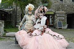 Parade vénitienne Yvoire 2019 (joménager) Tags: nikonpassion nikond3 nikonafs24120f4 carnaval yvoire masque costume hautesavoie flash