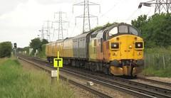 37099 Hoo Junction (localet63) Tags: class37 37099 colasrail hoojunction testtrain networkrail 3y00