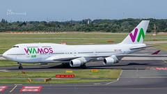EC-MRM Wamos Air Boeing 747-4H6 cn 28435 DUS/EDDL (thule100) Tags: ecmrm wamosair boeing7474h6 cn28435 dus eddl frankkrause
