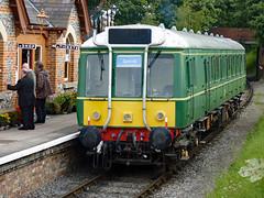 55023 Chinnor 07.08.11 (Sarum33) Tags: chinnor princes risborough railway 55023 dmu bubblecar class121