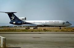 Tupolev TU-154M OM-AAC Slovak Airlines (EI-DTG) Tags: rhodes rho tu154 tupolev154 trijet omaac slovakairlines