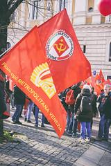 DSCF7267 (Alessandro Gaziano) Tags: alessandrogaziano foto fotografia manifestazione manifestazioni colori colors gente people roma visioni reportage italia italy