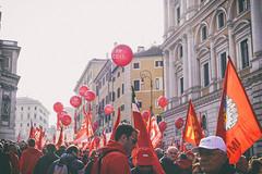 DSCF7269 (Alessandro Gaziano) Tags: alessandrogaziano foto fotografia manifestazione manifestazioni colori colors gente people roma visioni reportage italia italy