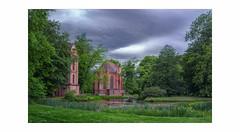 magische Orte (rafischatz... www.rafischatz-photography.de) Tags: castle parkgarden ludwigslust mecklenburgwesternpomerania church chapel pond thunderstorm sthelena