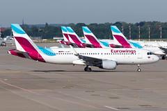 Eurowings - Airbus A320-214SL -  D-AEWT (Jesse Vervoort) Tags: airplane aeroplane aircraft plane eurowings airbus a320 sharklets dusseldorf