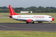 Albawings - Boeing 737-46J - ZA-ALB (Jesse Vervoort) Tags: albawings boeing 734 airplane aircraft aeroplane dusseldorf airport plane