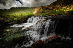 My holy water..... (Einir Wyn Leigh) Tags: landscape water rural colorfl nature outside walking wales snowdonia light rugged uk green mountains river