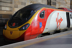 390103, Glasgow Central, March 2nd 2016 (Southsea_Matt) Tags: 390103 class390 alstom pendolino virgintrains glasgowcentral strathclyde scotland unitedkingdom electricmultipleunit emu train railway railroad engine station transport vehicle march 2016 spring