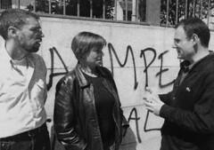 Francesc Camps, Alfons Escoda i Consol Pla (CiU) durant les municipals de 2003 (ArxiuTOT) Tags: cerdanyola cerdanyoladelvallès totcerdanyola ciu consolpla francesccamps alfonsescoda