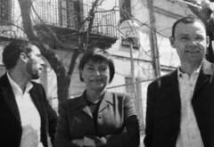 Francesc Camps, Consol Plà i Alfons Escoda (CiU). Eleccions Municipals de Cerdanyola, 2003 (ArxiuTOT) Tags: cerdanyola cerdanyoladelvallès totcerdanyola ciu consolpla alfonsescoda francesccamps