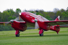 De Havilland DH.88 Comet (Nigel Musgrove-2.5 million views-thank you!) Tags: de havilland dh88 comet gacss grosvenor house shuttleworth collection season premiere old warden bedfordshire 5 may 2019 air show vintage british england red