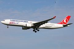 TC-LNC 01062019 (Tristar1011) Tags: eham ams amsterdam schiphol turkishairlines airbus a330300 a333 tclnc 300thaircraft