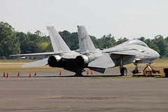 164346 Grumman F-14D Tomcat United States Navy (ChrisChen76) Tags: richardbrussellairport rome grumman f14d tomcat usn usnavy unitedstatesnavy usa