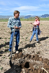 Kenneth and Sheri Jensen (NRCS Oregon) Tags: soil health oregon nrcs usda natural resources conservation service agriculture ontario malheur county grazing crops no till cover stubble jensen kenneth