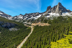 Washington Pass (rebeccalatsonphotography) Tags: june spring washington highway road northcascades northcascadeshighway washingtonpass overlook wideangle 1635mm canon 5ds rebeccalatsonphotography travel