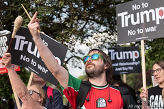 Protest Trump At Buckingham Palace -  3rd June 2019 (The Weekly Bull) Tags: 2019 buckinghampalace donaldtrump london presidenttrump queenelizabeth statevisit trump uk demonstration hate humanrights noise politics protest racism rally resist sexism