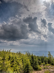View from Hornisgrinde, Black forest (Steppenwolf33) Tags: hornisgrinde black forest germany steppenwolf33 sky clouds