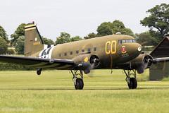 Douglas C-47B Skytrain 'Betsy's Biscuit Bomber' | 43-48608/N47SJ | Gooney Bird Group | Old Warden 02/06/19 (Shaun Schofield) Tags: douglas dc3 c47 dakota skytrain dday shuttleworth aircraft aeroplane aviation airshow