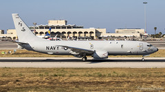 Malta International Airport (Redeemer_Saliba) Tags: united states us navy usn boeing p8a poseidon 169328 touchandgoes lmml luqa airport rwy 13