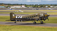 "D-Day veteran Douglas C-47 Dakota ""That's all Brother"" (Ratters1968: Thanks for the Views and Favs:)) Tags: flight flying fleugzeug aeroplane plane aeronautics aircraft avions aviation avioes aeronef transport airplane air jet topgun military war warplane combat combataviation militaryaircraft militaire warbird prestwick prestwickinternationalairport scotland ayr ayrshire glasgowprestwick transporter heavy heavylifttransporter cargo freight usaf united states force unitedstatesairforce america usa douglas c47 dakota thatsallbrother skytrain douglasc47dakota dday dday75thanniversary ltcoljohndonalson"
