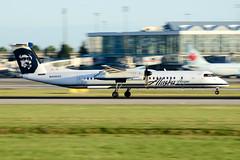 CYVR - Horizon Air De Havilland Canada DHC-8-400 N408QX (CKwok Photography) Tags: yvr cyvr horizonair dehavillandcanada dhc8 n408qx