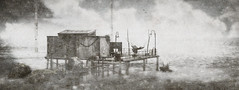 Holiday (FlashMe Photography) Tags: puddlechurch beach sl secondlife bw blackandwhite water ocean gimp