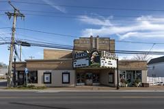 Island Theatre, Chincoteague, VA (Dean Jeffrey) Tags: virginia chincoteague theater movietheater marquee artdeco