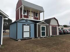 DzfD2k6X0AEGjxv (TUFF SHED) Tags: premiertall ranch premierpro tall barn doubledoor crossbuck porch