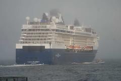 Celebrity Summit (jelpics) Tags: cruiseships cruise celebrity celebritycruises celebritysummit bostonpilot chelsea boat boston bostonharbor bostonma harbor massachusetts ocean port sea ship vessel