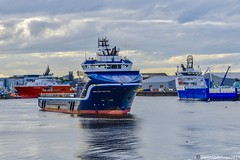 Highland Prestige - Aberdeen Harbour Scotland - 2019 (DanoAberdeen) Tags: aberdeenshire aberdeen amateur aberdeenharbour abz aberdeencity abdn aberdeenscotland winter summer clouds docks landscape boats countryside video dock nikon wasser harbour candid cargoships scottish bluesky quay northsea maritime bonnie northeast seaport vessels ecosse merchantnavy haulage footdee grampian seafarers workboats lifeatsea merchantships bonnyscotland errv iphonevideo escotia pocraquay danophotography nikond750 danoaberdeen torry torrybattery highlandprestige scotch fittie oilrigs shipspotting
