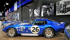Shelby Daytona Cobra Coupe (Bernard Spragg) Tags: carrollshelby fast lasvegas card racingcars museums blue autos lumix