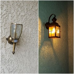 Before and After (cjacobs53) Tags: jacobs jacobsusa porch light diy electric 119picturesin2019 annual scavenger photo hunt yearly picture