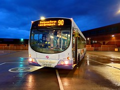 Glasgow First Bus SF06 GYZ 69091 (Marcakarot) Tags: sf06 gyz springburn parkhead 2006 volvo scotstoun b7rle