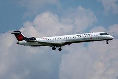 C-FKJZ Bombardier CRJ-705 Air Canada Express / Jazz (SamCom) Tags: crj9 kdfw dfw dallasfortworthinternational cfkjz bombardier crj705 aircanadaexpress jazz crj900