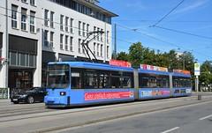 München, Einsteinstraße 14.08.2017 (The STB) Tags: münchen munich publictransport citytransport öpnv tram tramway strassenbahn strasenbahn streetcar