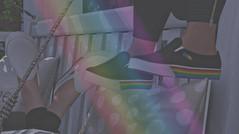 P R I D E (V ♪) Tags: misschelsea groupgift secondlife maitreyacompatiblefootwear bellezacompatiblefootwear slinkcompatiblefootwear unriggedfootwear meshfashion gaypride celebratepride virtualworld 3d