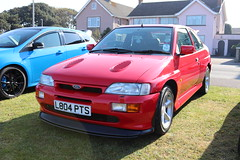 Ford Escort RS Cosworth L804PTS (Andrew 2.8i) Tags: classics meet show cars car classic weston westonsupermare euro european hatch hot hatchback fordofeurope turbo cosworth rs escort ford