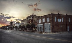 I still have not gotten a train (builder24car) Tags: dusk sunset abandoned cityscape ghosttown urbandecay leftbehindandforgotten rowlandnorthcarolina
