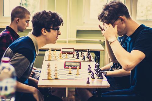 Mistrzostwa I LO w Szachach-29