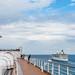Departing Costa Maya alongside Rhapsody of the Seas