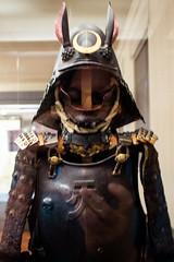 P5106674 (Cosmic Ray's) Tags: uenopark tokyonationalmuseum samurai samuraiarmor horns tokyo