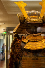 P5106677 (Cosmic Ray's) Tags: uenopark tokyonationalmuseum samurai samuraiarmor horns tokyo