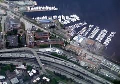 Fairview (Sotosoroto) Tags: aerial seattle washington lake lakeunion eastlake i5 freeway