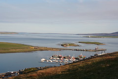 Scapa Flow from Stromness (stuartcroy) Tags: orkney island scapaflow scotland scenery sea still sky beautiful blue beach boat
