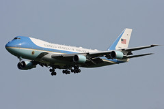 US Air Force One Boeing VC-25A (Wiggy66) Tags: boeingvc25a 929000 usairforceone stn stansted