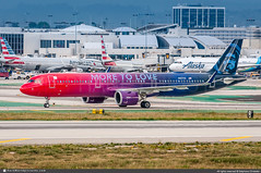 [LAX.2019] #Alaska.Airlines #AS #Airbus #A321 #Neo #N927VA #More.to.Love #awp (CHRISTELER / AeroWorldpictures Team) Tags: alaskaairlines as asa us airlines airliner america viriginamerica plane aircraft airplane avion airbus a321neo a321 neo a321253n cn8126 engines cfmi n927va moretolove painted special colours livery dazah spotting planespotting losangeles lax klax ca usa california airport spotter christeler aeroworldpictures awp team aviation photo photography nikon d300s nef raw nikkor lightroom 70300vr