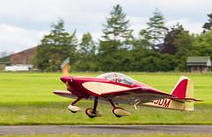 G-TJDM RV-6, Scone (wwshack) Tags: egpt psl perth perthkinross perthairport perthshire rv6 scone sconeairport scotland vans gtjdm
