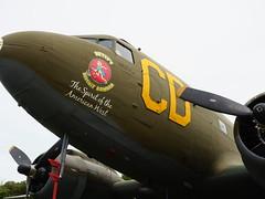 Betsy's Biscuit Bomber C-47 (davepickettphotographer) Tags: dakota shuttleworthcollection uk oldwarden skytrain england airshow flight flying aviation secondworldwar dc c47 betsys biscuit bomber estrella warbirds museum aircraft bedfordshire