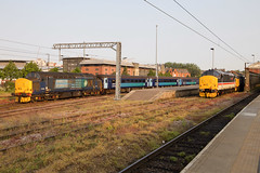 37405, 37419 and 37407 Norwich 04/06/19 (andyk37) Tags: 37419 mainline 374 040619 drs class37 norwich 37405 shortset anglia